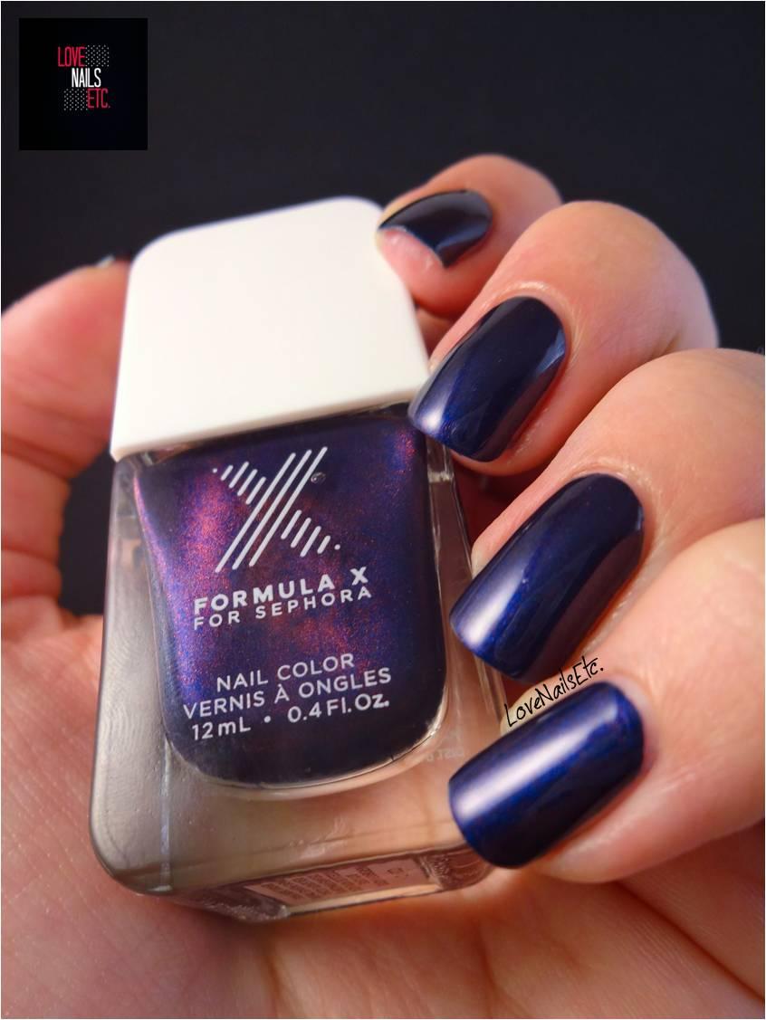 formula x for sephora cosmic love nails etc. Black Bedroom Furniture Sets. Home Design Ideas