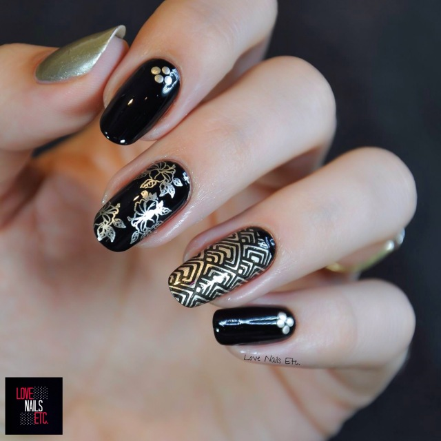 SM Black & Gold BLP6
