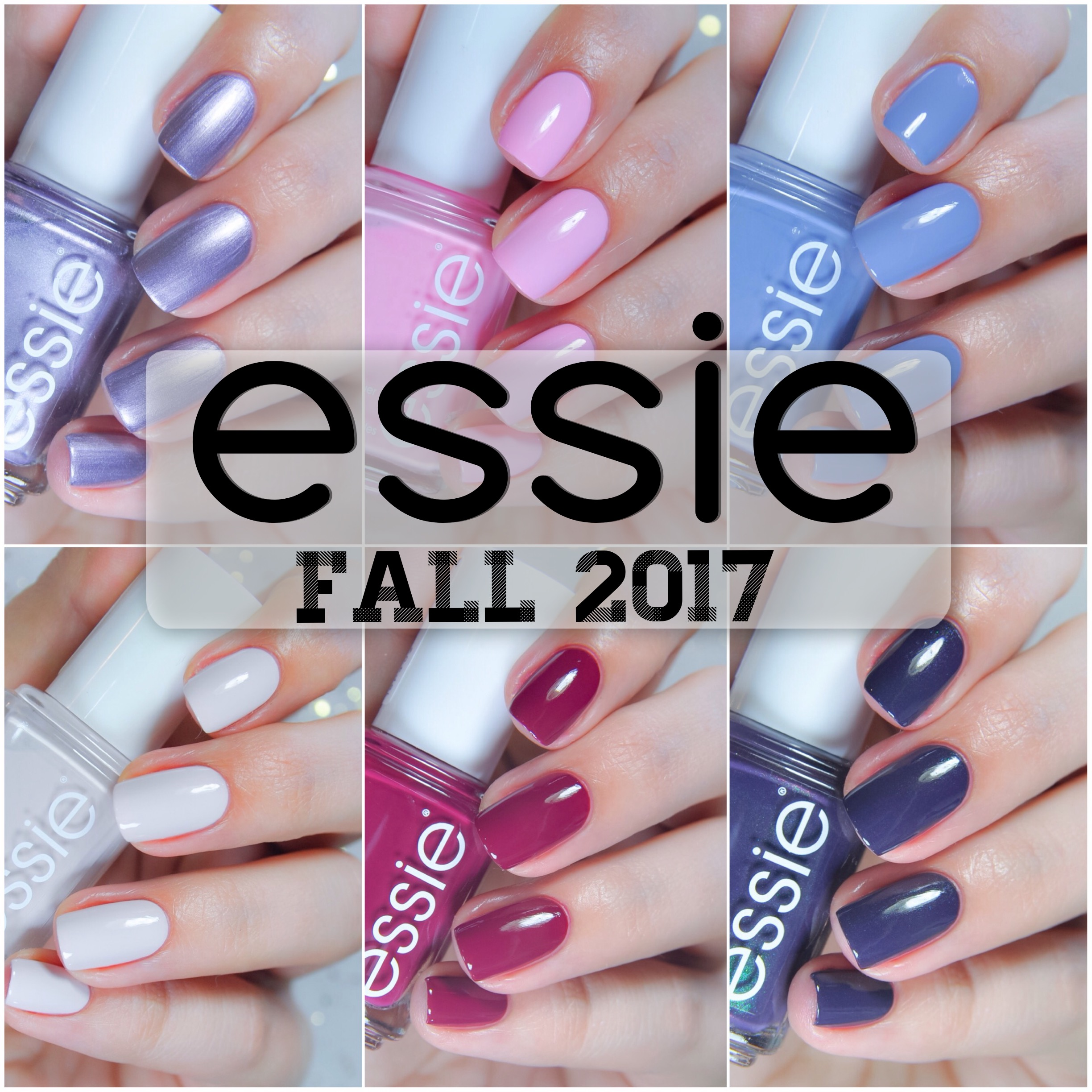 "Essie Fall 2017 – ""As if"""