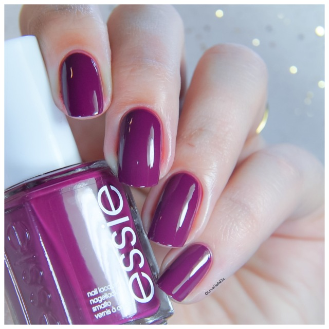 Essie Winter 2017 Social-lights _ Love Nails Etc Review New year, new hue