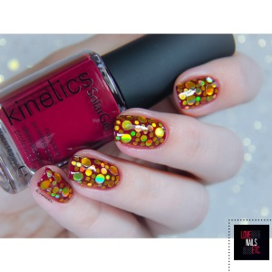Paillettes rondes or reflets holo _ Born Pretty Store _ Love Nails Etc5