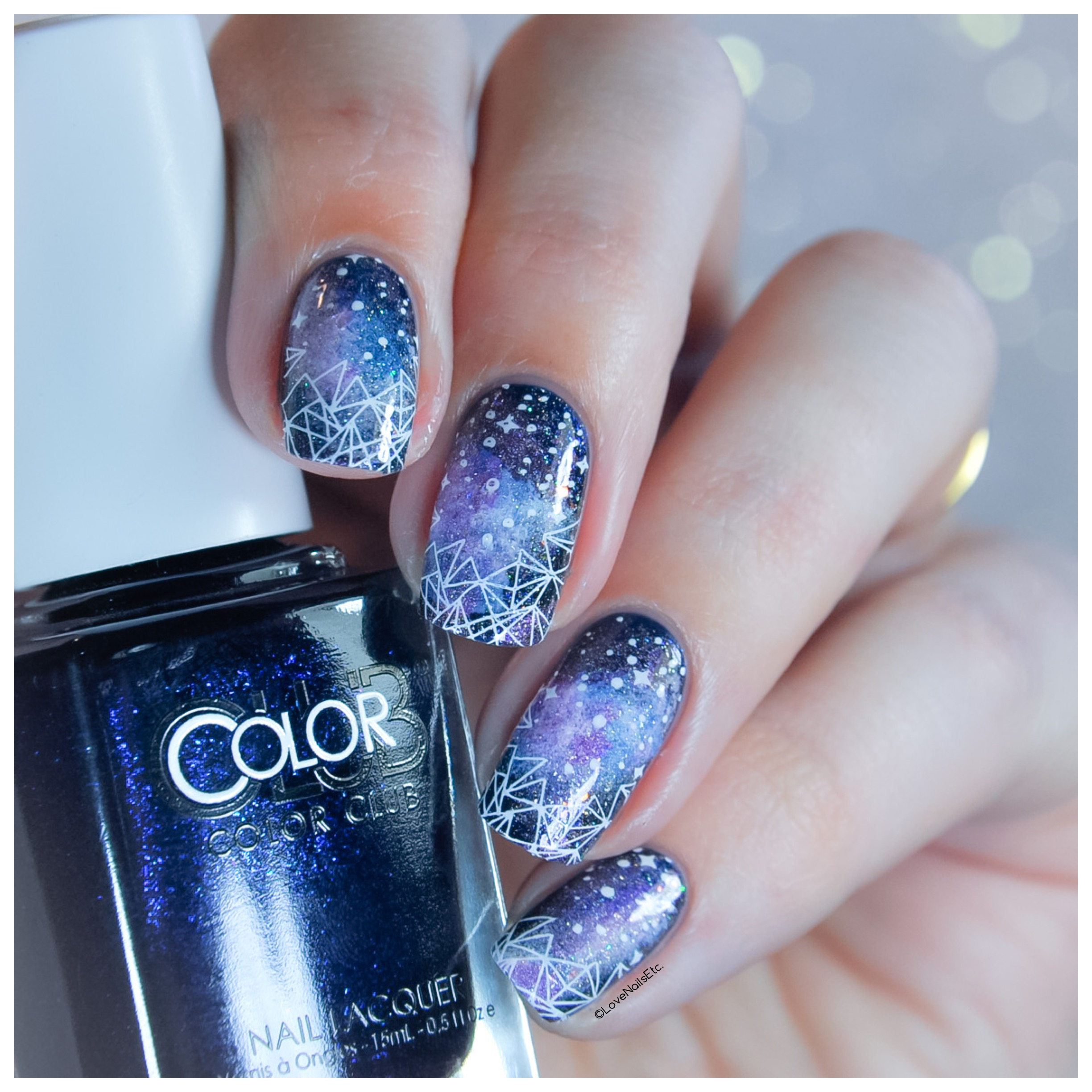☄️ Winter Galaxy  – #StampingMaster