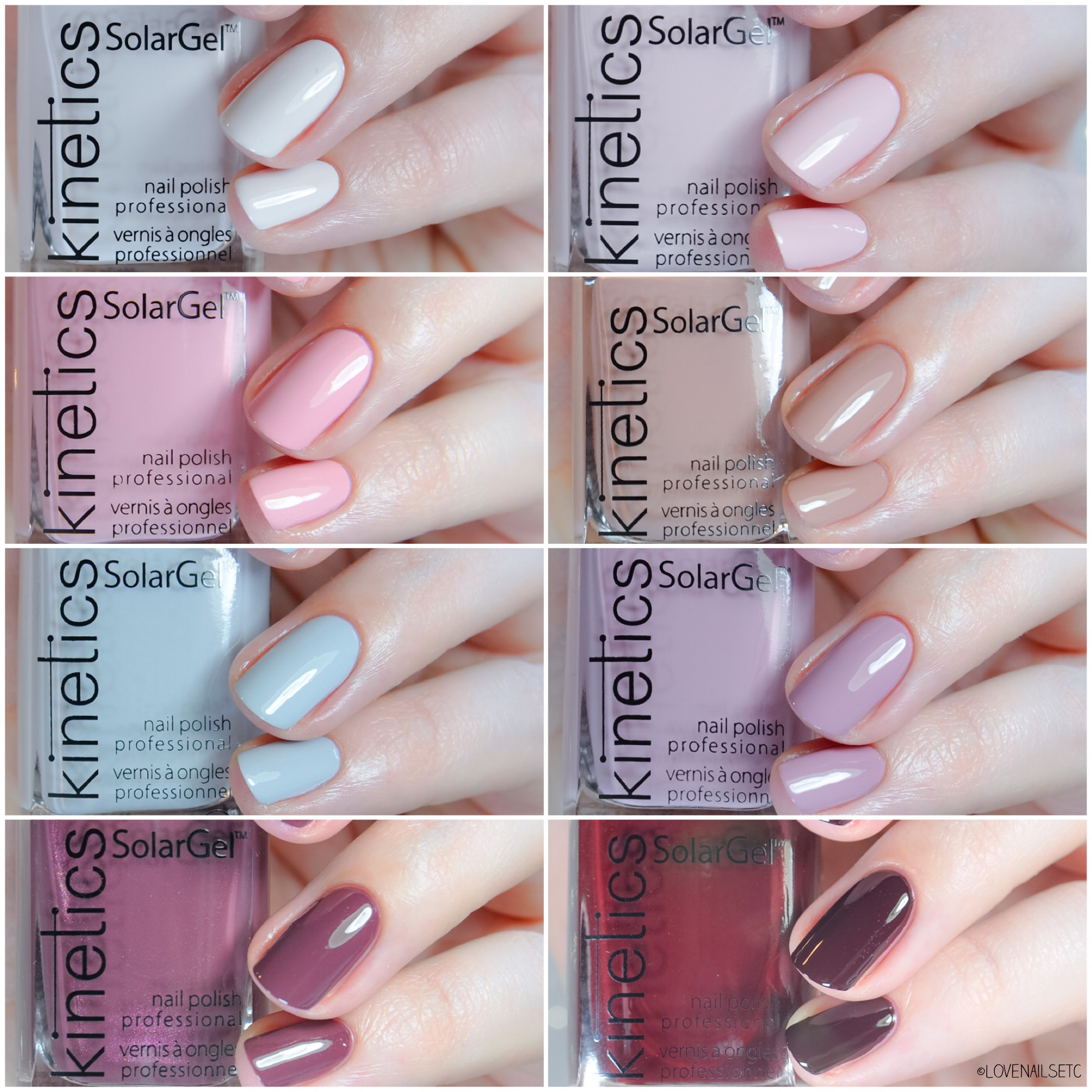 """Nude Different"" SPRING 2018 Collection – Kinetics Nails Systems"