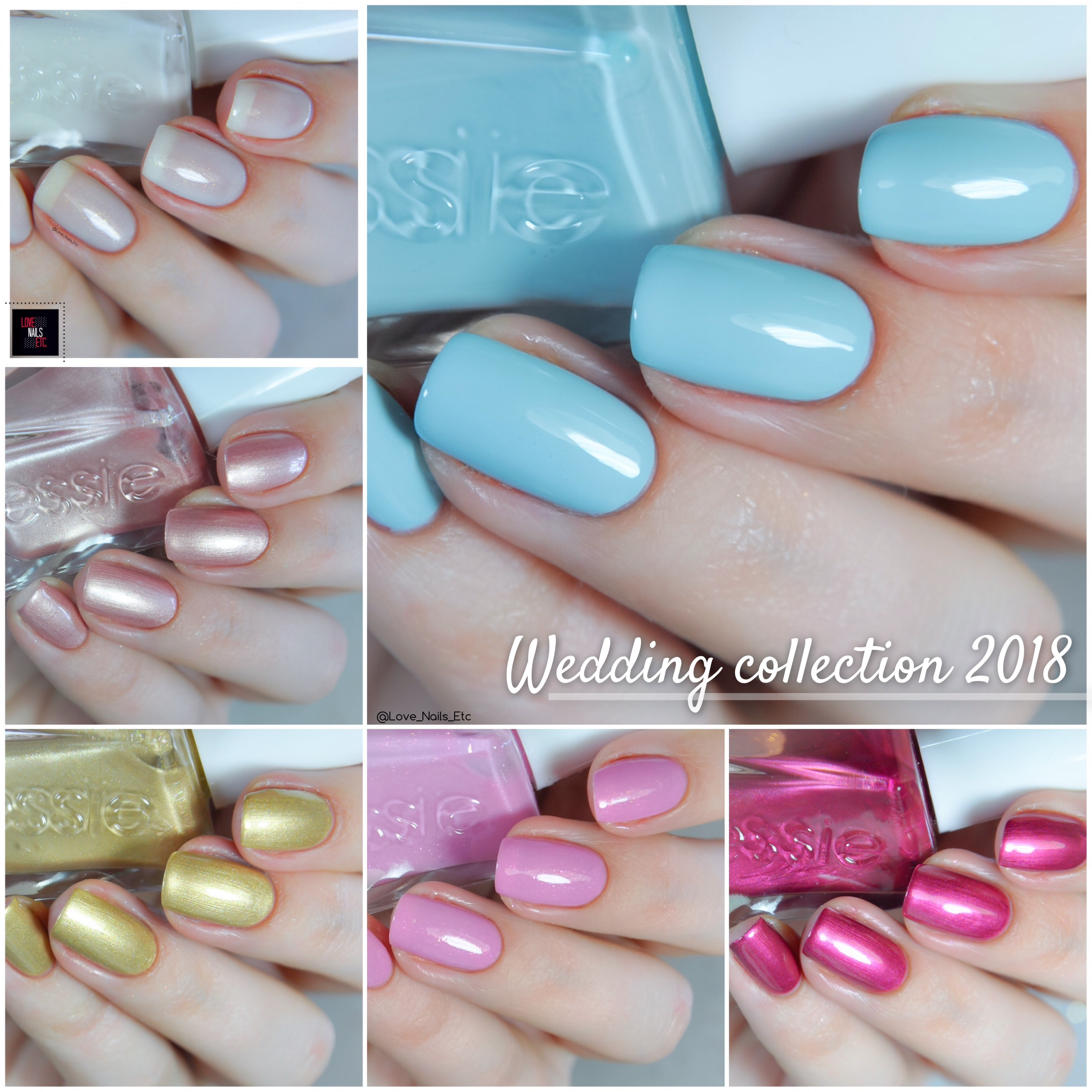 Essie – Collection Gel Couture Wedding 2018