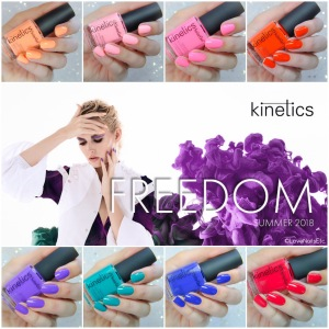Kinetics Solar Gel - Freedom Collection Summer 2018_2